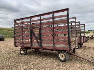 Wood Bale Rack & Gear