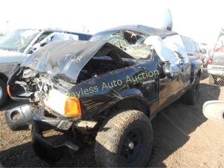 2004 Ford Ranger 1FTYR14U04PA71272 Black
