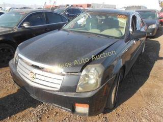 2003 Cadillac Cts 1G6DM57N030130971 Black
