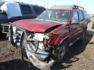 2001 Nissan XTerra 5N1ED28T71C541434 Red