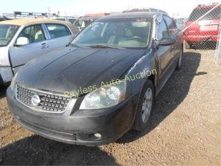 2006 Nissan Altima 1N4AL11D26N357507 Black
