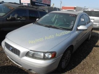 2003 Volvo S60 YV1RS58D832251339 Silver