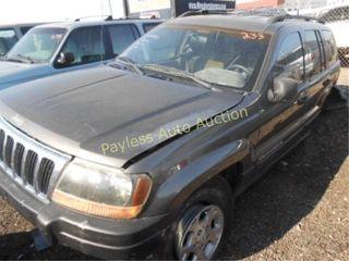 2000 Jeep Grand Cherokee 1J4G248S4YC373861 Gray