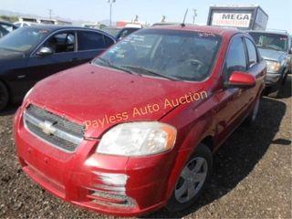 2009 Chevrolet Aveo KL1TD56EX9B331873 4DSD