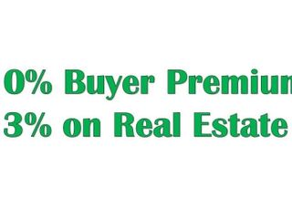 10% Buyer Premium on all personal property!