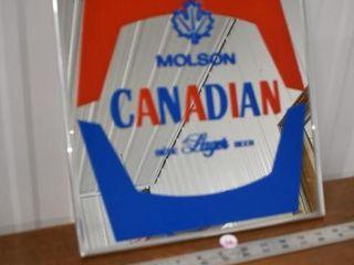 Molson Mirror Sign 12
