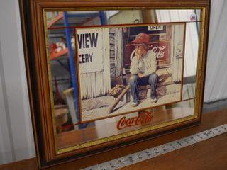 Coke Mirror Sign 19