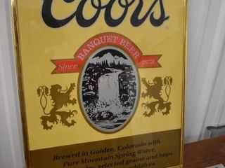 Coors Sign 16