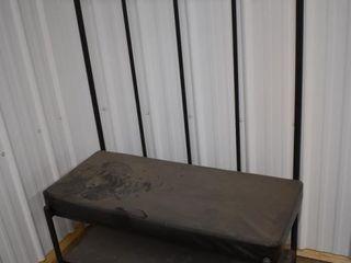 Metal Hall Seat 38