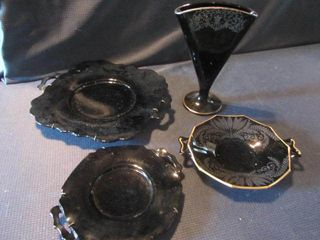 Black Amethyst Glass