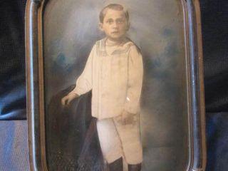 Vintage Portrait & Frame