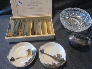 Mirror Place Cards, Lighter, Ashtray