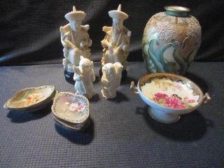 Ivory Like Figures, Nippon Salts