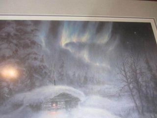 Lights Along The Trail Print