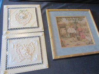 Tapestry & Tin Wall Hangings