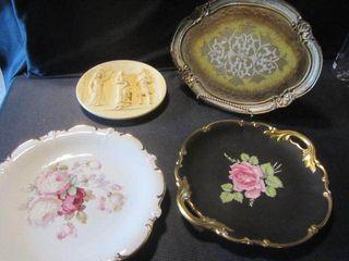 Collector Plates-German, Alabaster
