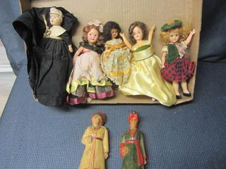 Dollhouse Dolls, Wooden