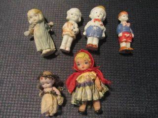 Frozen Charlotte Style Dolls