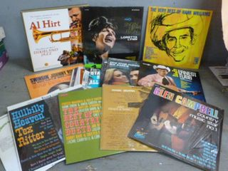 Vintage Record Albums