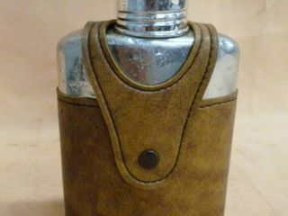 Vintage Whiskey Flask