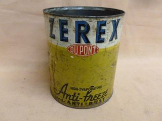 Vintage Metal Container