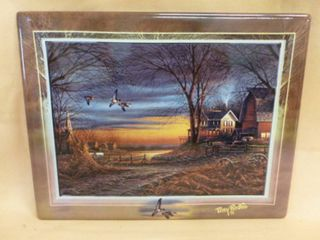 Terry Redlin Tile Decoration