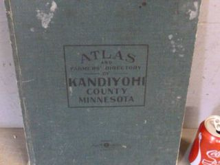 Antique County Atlas Book