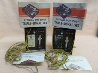 Vintage Boy Scouts Electronics