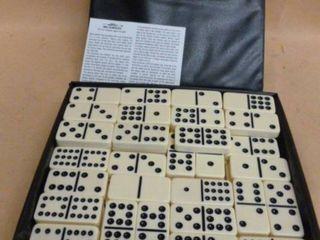 Vintage Dominoes Set