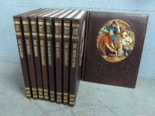 Vintage Old West Book Set