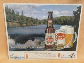 Vintage Schmidt Beer