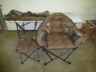Guide Gear Round Lounger Chair Brown