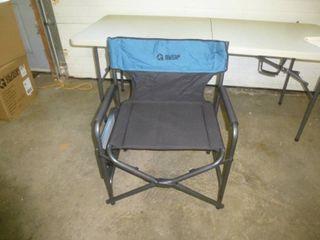 Guide Gear Camp Chair Black/Blue