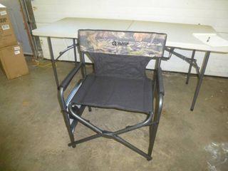 Guide Gear Camp Chair Black/Camo