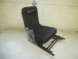 Guide Gear Folding Swivel Chair Black