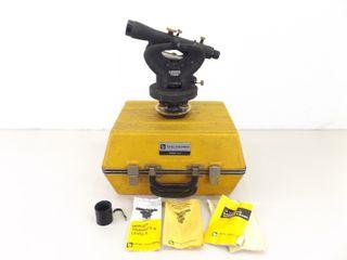Vintage Berger Optical Plummet Transit Level Model #504