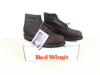 NEW in Original Box Mens Red Wing Steel Toe Boots Size 11.5 H