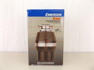 NEW in Box Emerson E100 Food Waste Disposer
