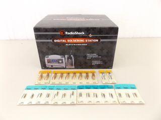 NEW in Original Box Radio Shack Digital Soldering Station w/Extra Tips