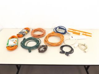 Lot of NEW etc. Extension Cords