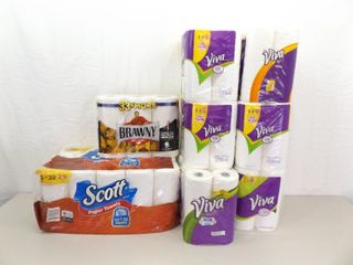 Large Lot of NEW Paper Towels