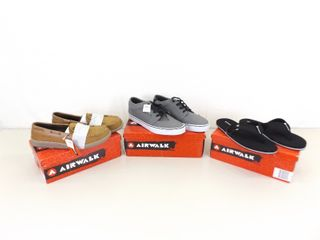 NEW in Original Boxes 3 Pairs of Mens Airwalk Shoes Sizes 13, 13 and 12