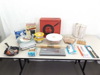 Large Lot of NEW Misc Cookware, Bakeware, etc.