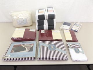 Large lot of NEW Bedding, Sheets, Pillow Cases, etc.