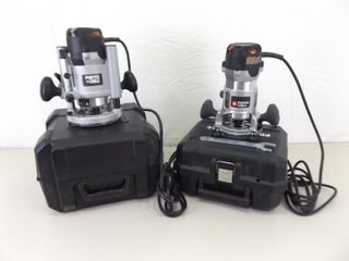 2 As NEW, Lightly Used Porter Cable Routers Models 891 and 8902