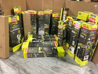RYOBI ASSORTED TOOLS! CUSTOMER RETURNS SEE PICS!