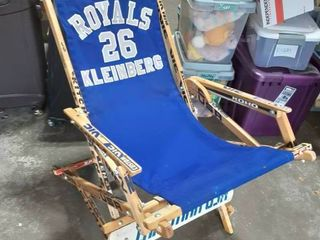 Unique Hand Crafted Hockey Stick Folding Sling Chair