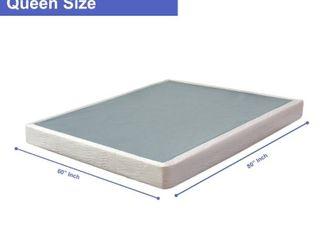 ONETAN  5 Inch Wood Unassambled Box Spring Foundation For Mattress   Queen   Retail 164 99