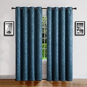 Pair of Thermal Blackout Curtains