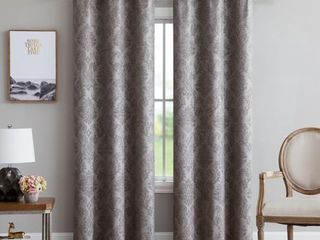 Pair of Blackout Wall to Wall Curtain with Grommets